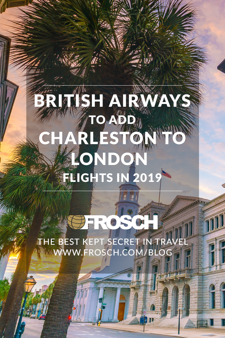 British Airways Charleston