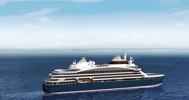 Ponant Heads to the Poles with New Icebreaker Ship