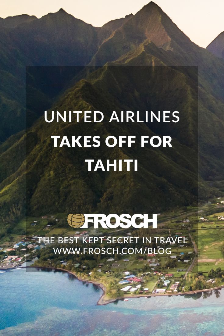 United Airlines Takes off for Tahiti