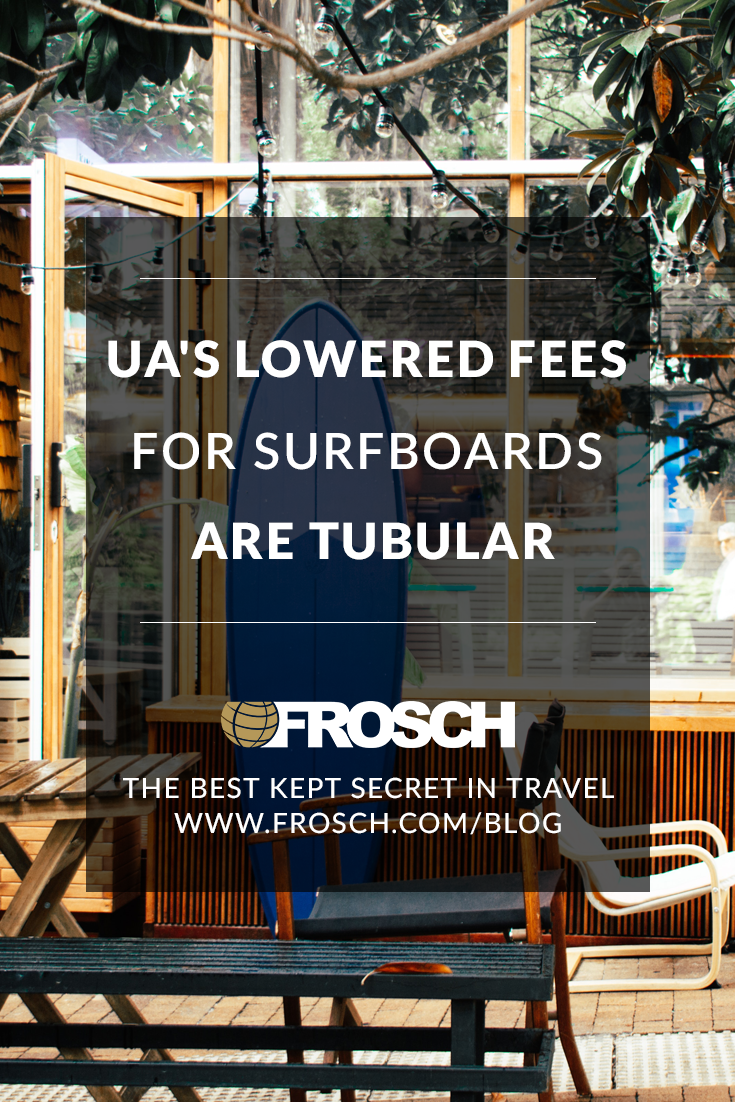 United's Lowered Fees for Surfboards are Tubular