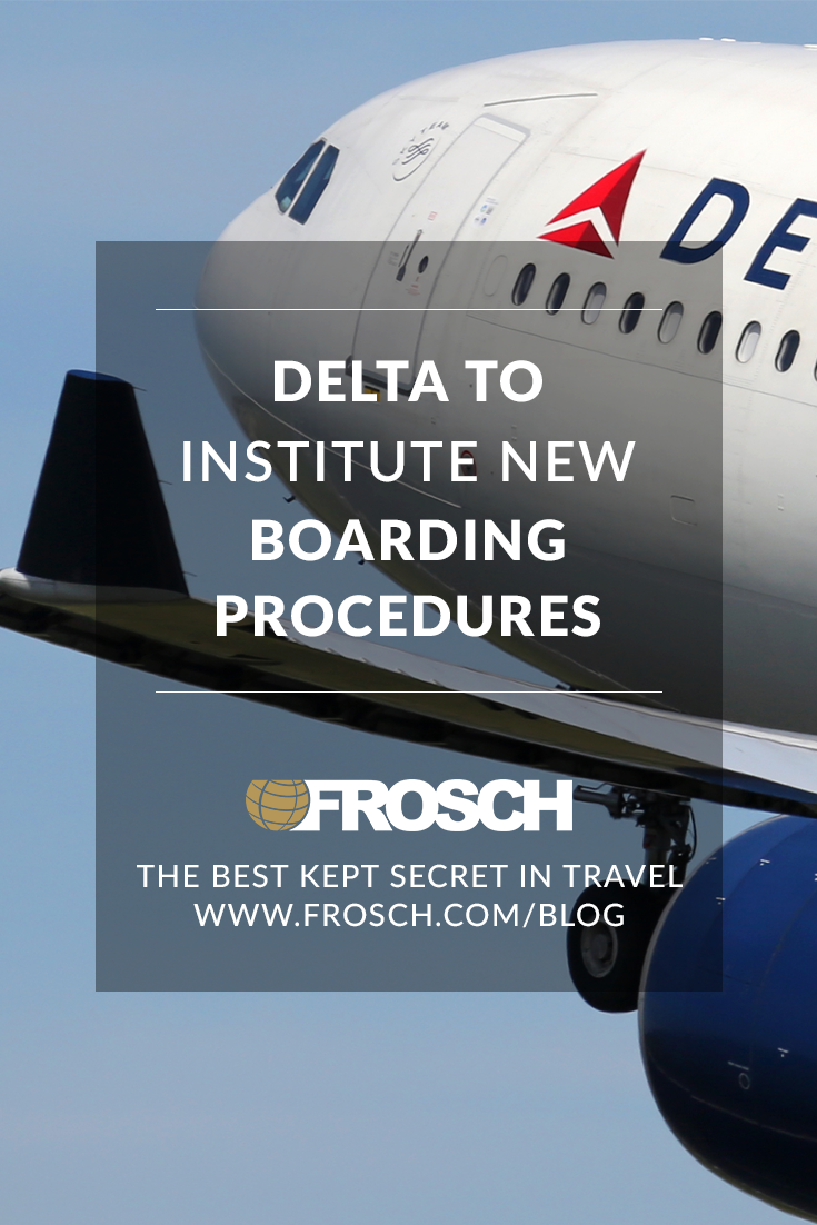 Delta to Institute New Boarding Procedures