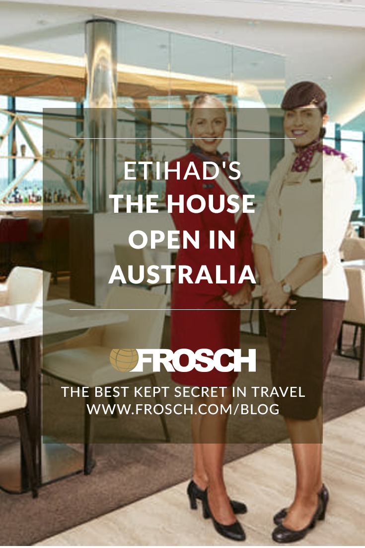 Etihad's The House Open in Australia