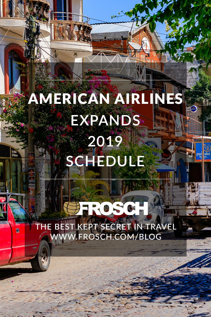 American Airlines Expands 2019 Schedule
