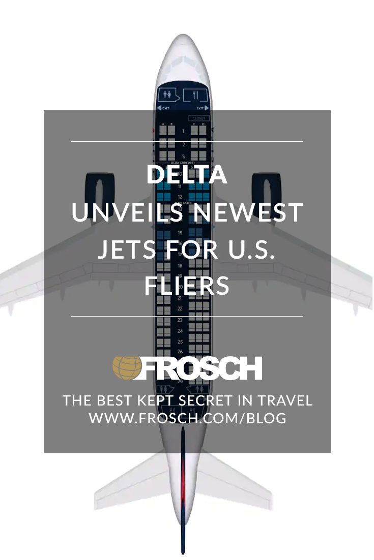 Delta Unveils Newest Jets for U.S.