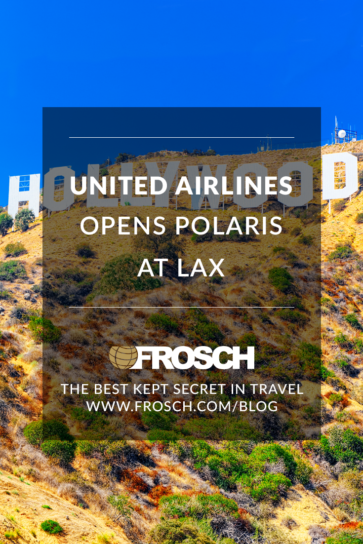 United Opens Polaris Lounge at LAX