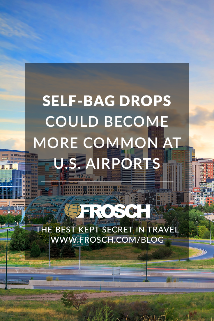 Self-Bag Drops Could Become More Common at US Airports