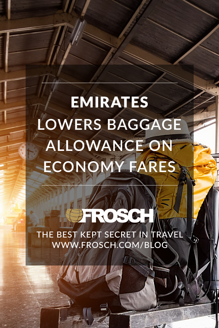 Emirates Lowers Baggage Allowance on Economy Fares