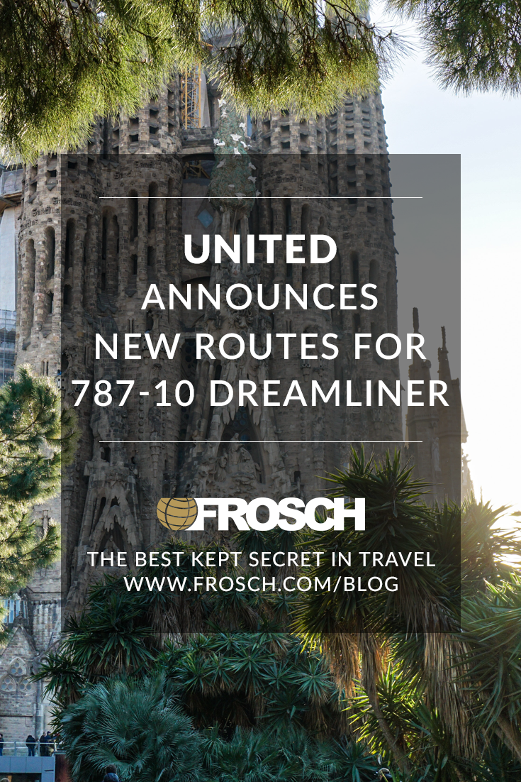 United Announces New Routes for 787-10 Dreamliner