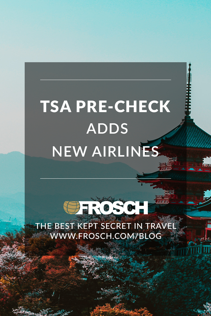 TSA Pre-Check Adds New Airlines