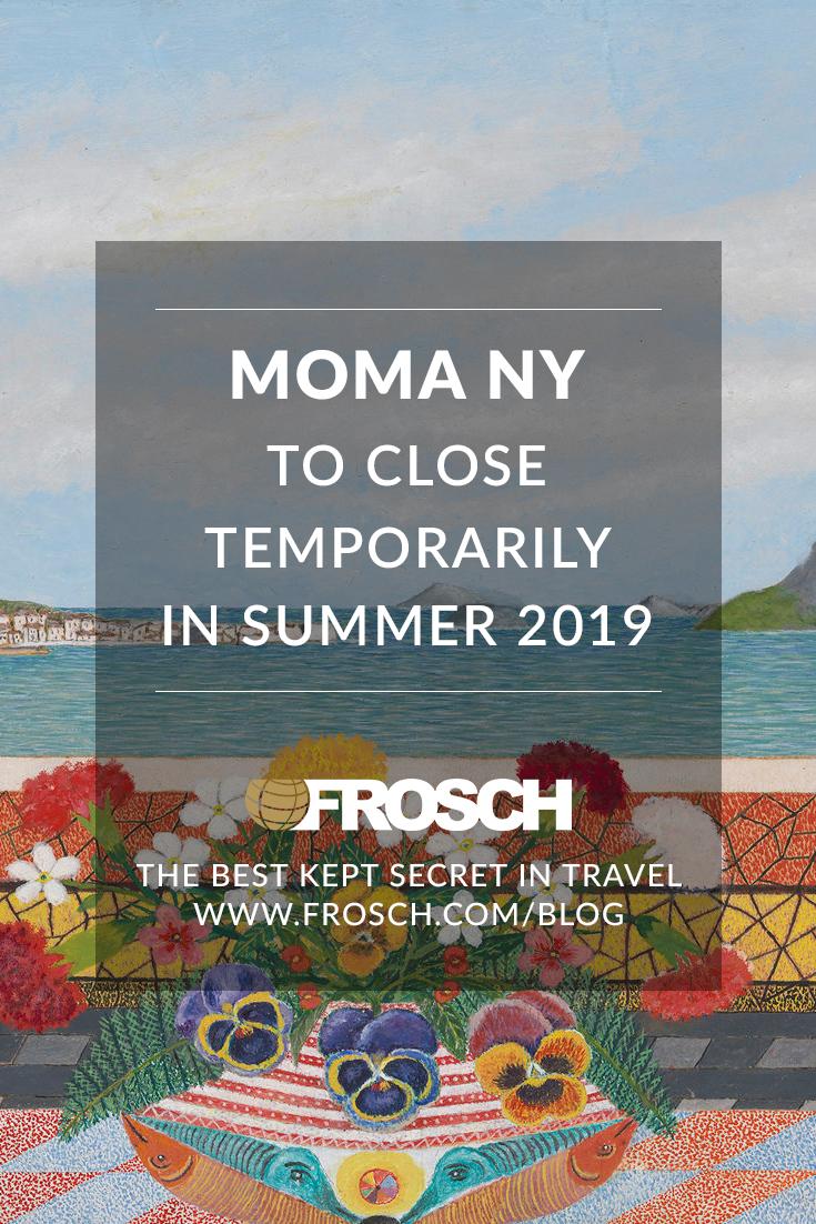 MoMA to Close Temporarily Summer 2019