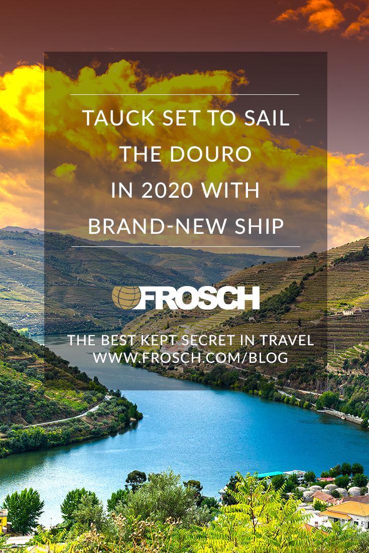 Tauck Set to Sail the Douro in 2020 with Brand-New Ship
