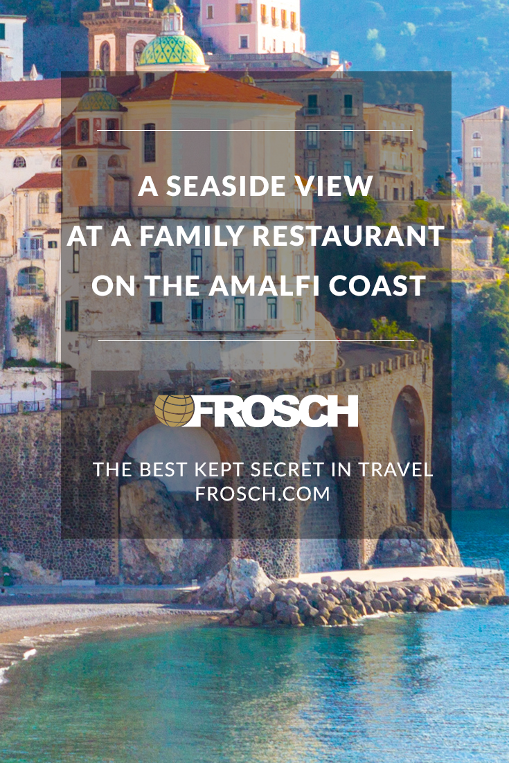 Blog Footer - A Seaside View at a Family Restaurant on the Amalfi Coast