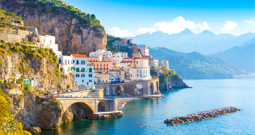 Blog Thumbnail - Amalfi Seaside View