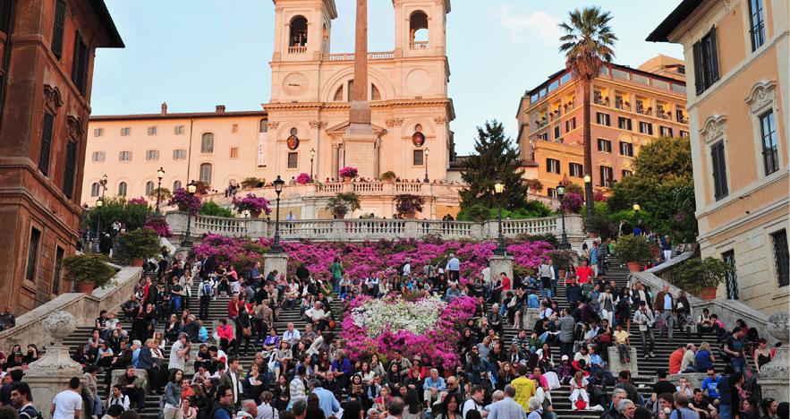 Blog Thumbnail - Rome Bans Sitting on Spanish Steps