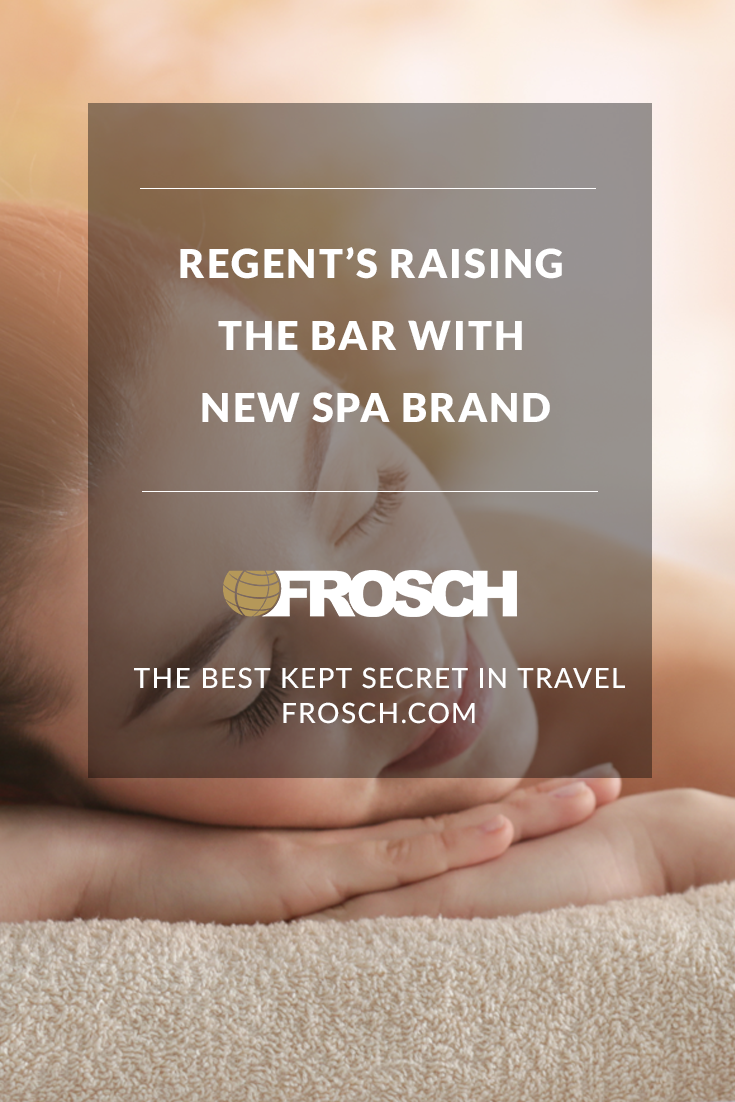 Regent's Raising the Bar with New Spa Brand