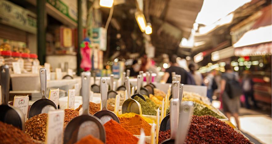 Blog Thumbnail - A Taste of Tel Aviv