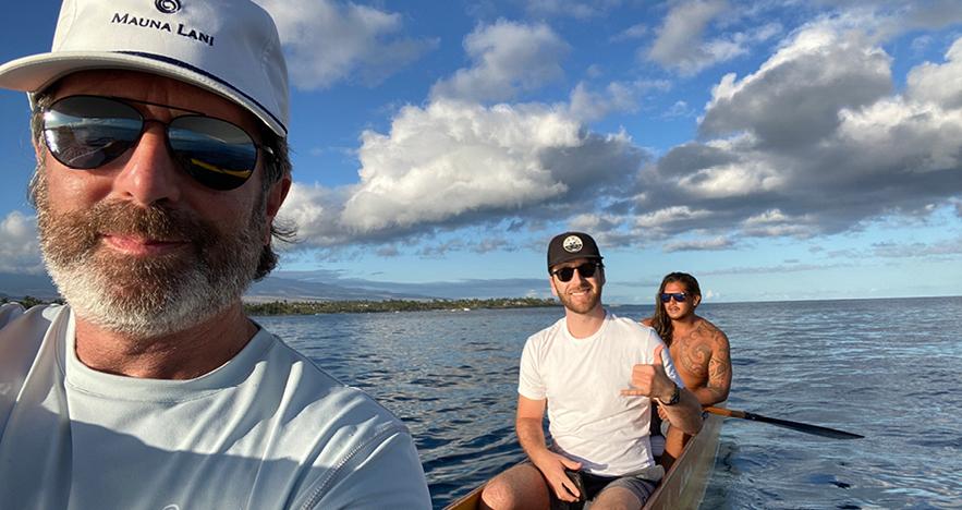 Mauna Lani Sunrise Panel - Steve Orens Hawaii Trip