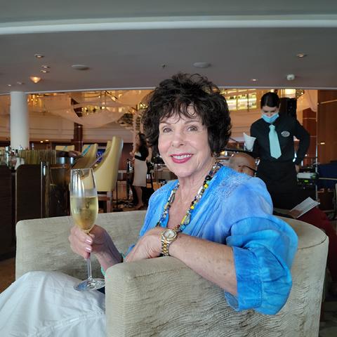 Bobbi Feslot Crystal Serenity Bahamas