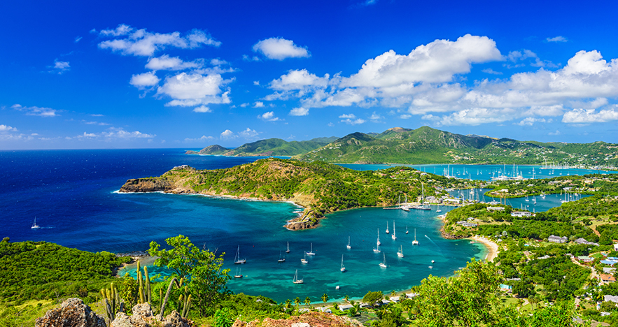 Panoramic View Antigua