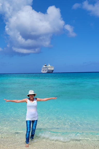 Bobbi Feslot Crystal Serenity Bahamas Trip