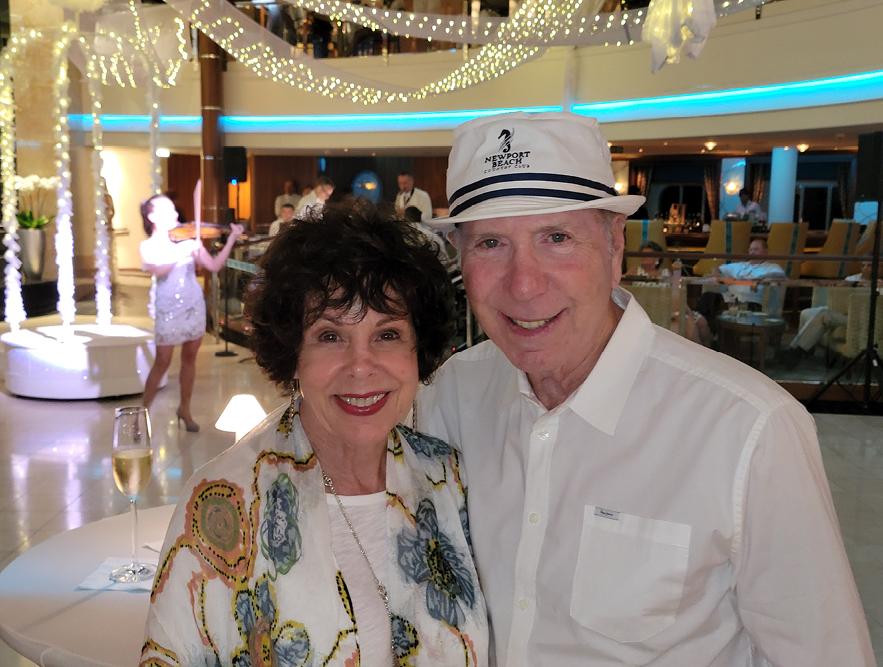 Bobbi Feslot Onboard Crystal Serenity in Bahamas