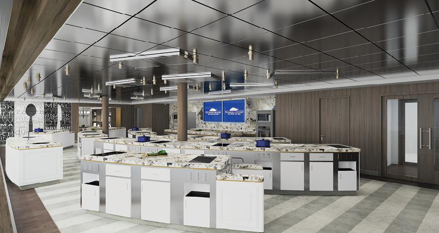 Oceania Vista Culinary Center