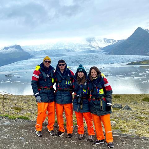 FROSCH Travel Bryan Leibman Iceland Trip Review Glacier Visit