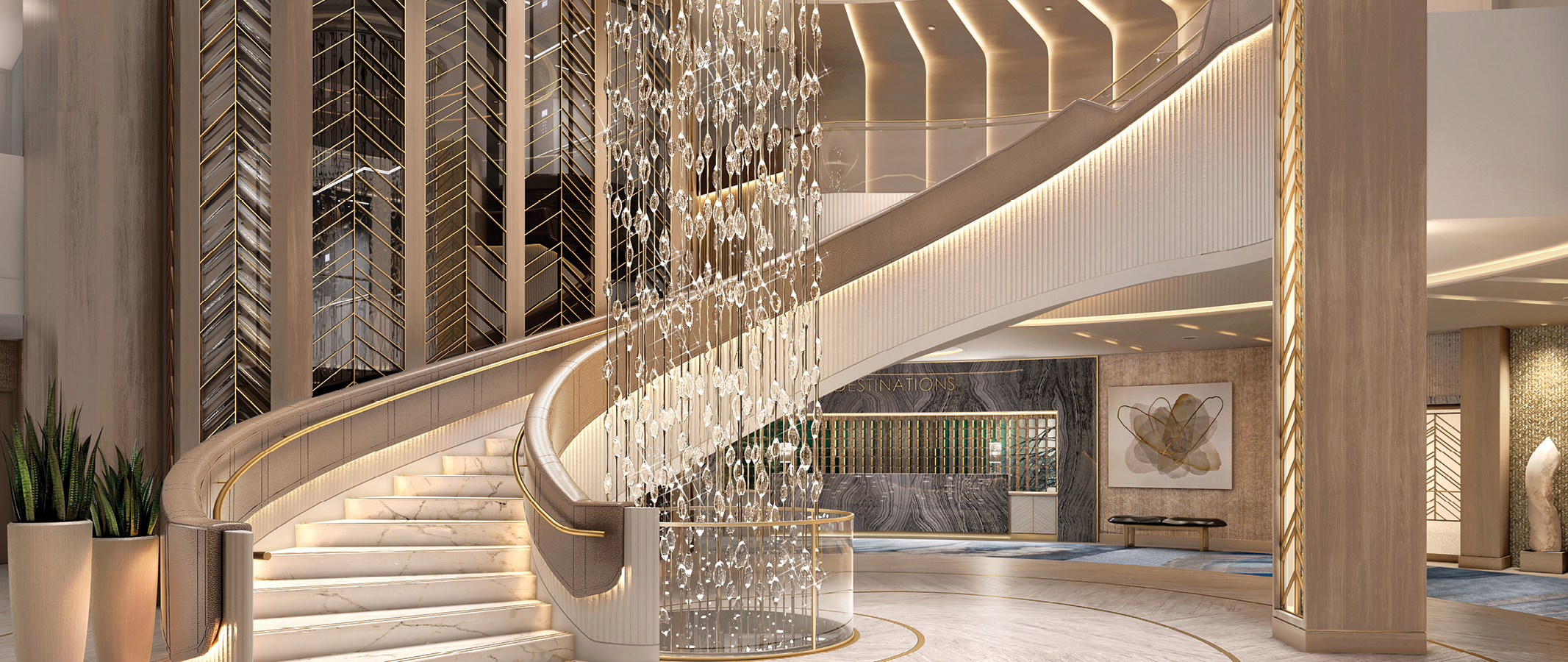 Oceania Vista Grand Staircase