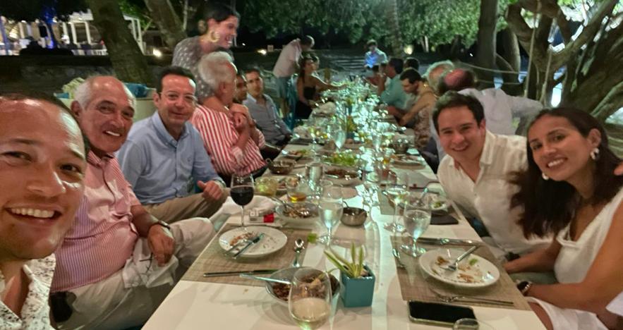 Group Dinner at DR Resort